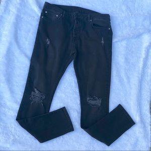 TOPMAN Skinny Stretch Jeans